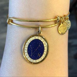 Alex and Ani Pisces Constellation Charm Bracelet